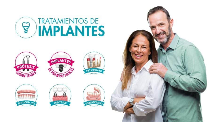 Mantenimiento de implantes dentales