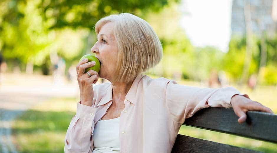 Cuidado dental en las personas mayores