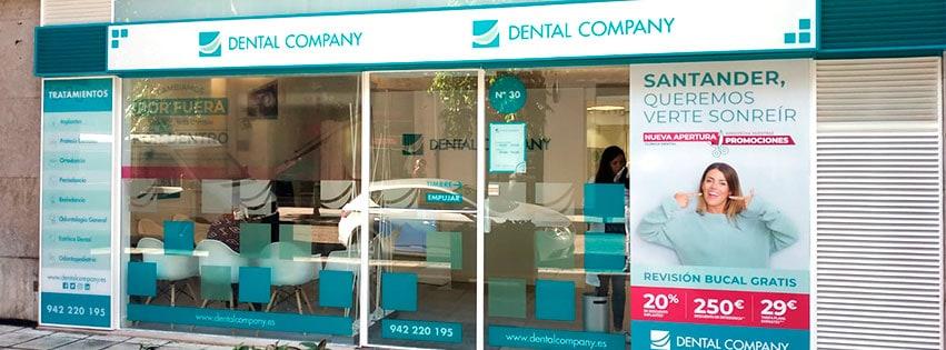 Fachada de nuestra nueva clínica de Santander.