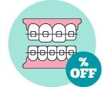 Descuento de 300€ en ortodoncia.**