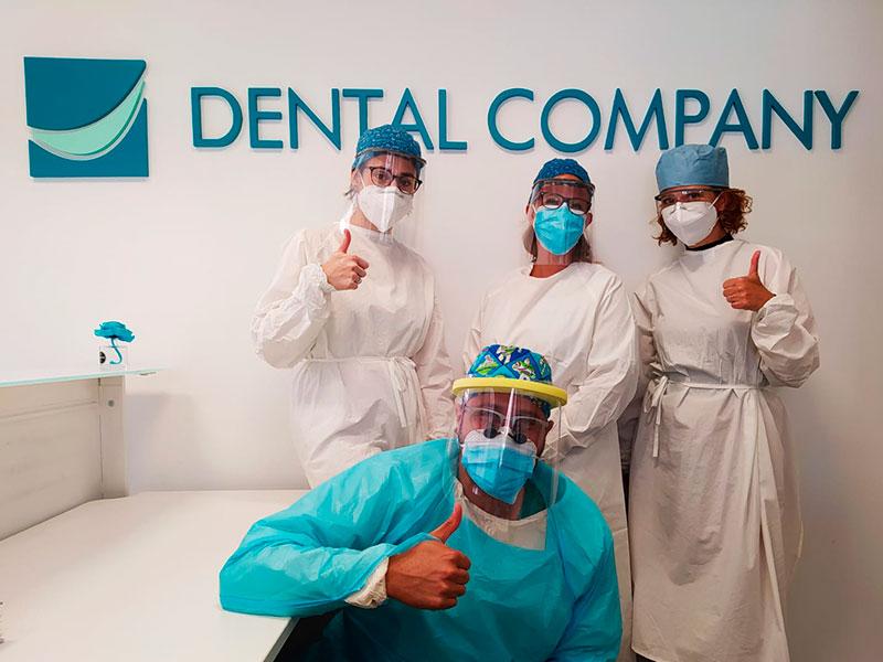 Equipo de Dental Company Socuéllamos