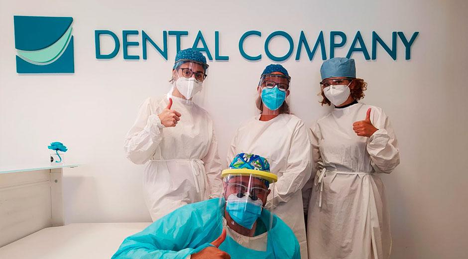 ¿Qué hacen en Dental Company para garantizar que pueda ir a una clínica dental segura frente al COVID-19?