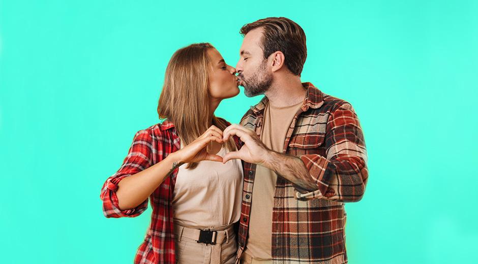 Beneficios de los besos para la salud bucodental